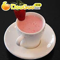 香蕉草莓奶昔
