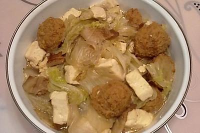 白菜炖豆腐粉条