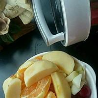 葡萄、橙子、雪梨,苹果汁#一机多能 一席饪选#的做法图解2