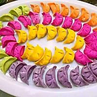 彩色水饺的做法图解5