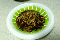 蚝油香菇油菜的做法