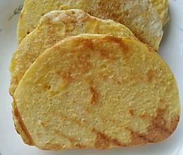 简单低脂营养早餐——香煎鸡蛋馒头片的做法