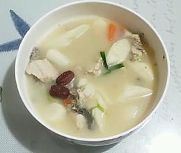 黑鱼山药汤的做法