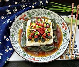 #父亲节,给老爸做道菜#皮蛋拌豆腐的做法