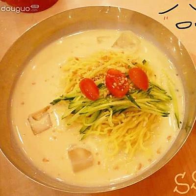 韩式豆浆面❤你吃过没?
