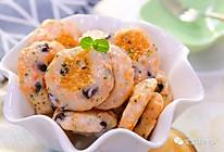 黑玉米虾饼 宝宝辅食食谱的做法