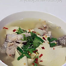 鸡汤干豆腐