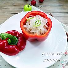 """【私房""""高汤""""萝卜丝】私房创意菜"""