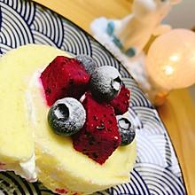 #餐桌上的春日限定#奶油蛋糕卷