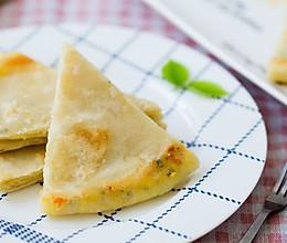 拔丝虾皮葱香饼的做法