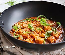 茄汁蘑菇鸡肉# MEYER·焕新厨房,唤醒美味# 的做法