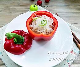 """【私房""""高汤""""萝卜丝】私房创意菜的做法"""