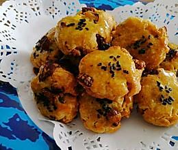 免打发,酥脆好吃的核桃红枣酥#厨房有维达洁净超省心#的做法