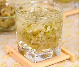 槐花蜜茶——消暑降温茶饮 的做法
