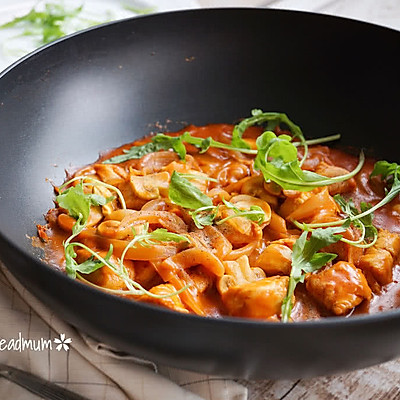 茄汁蘑菇鸡肉