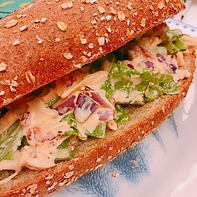 龙虾三明治