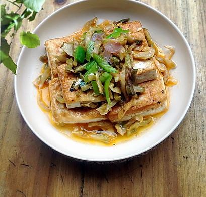 家常菜:红烧豆腐