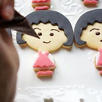 樱桃小丸子翻糖饼干的做法图解28