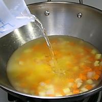 胡萝卜玉米浓汤的做法图解5