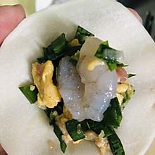 韭菜鸡蛋虾仁饺子