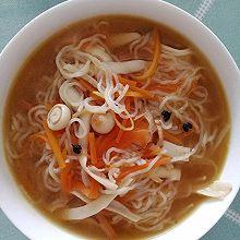 菌丝粉丝汤