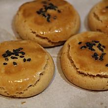 核桃红枣花生酥饼