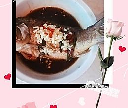 清蒸鲤鱼(减脂餐)的做法