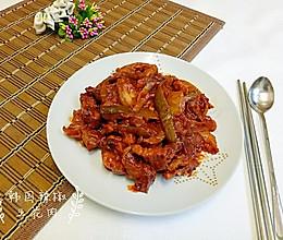 韩国辣椒五花肉的做法