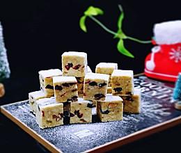 #令人羡慕的圣诞大餐#预热圣诞节 蔓越莓雪花酥的做法