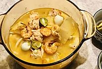 酸辣——冬阴功鲜虾汤的做法