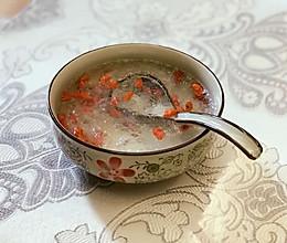 雪燕枸杞糖水的做法