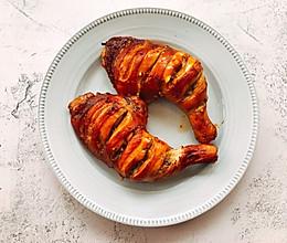 巨好吃的蒜香烤鸡腿的做法