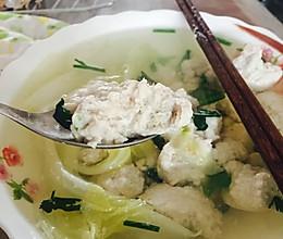 鲅鱼丸子汤的做法