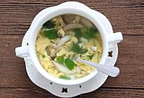 菌菇蛋花汤的做法