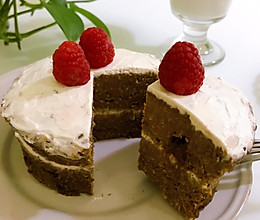 红薯燕麦巧克力夹心小蛋糕|微波炉版的做法