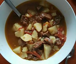 西红柿土豆炖牛肉(高压锅版)的做法