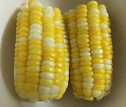奶油玉米(微波炉)的做法