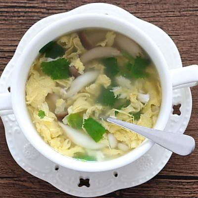 菌菇蛋花汤