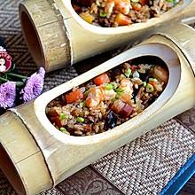 咸肉虾仁香菇糯米饭
