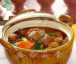 广式马蹄羊肉煲的做法