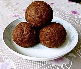 多口味馅料巧克力团子月饼的做法