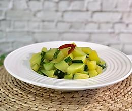 清炒嫩南瓜的做法