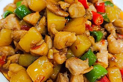 土豆烧鸡丁