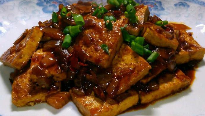 超下饭的煎烧老豆腐