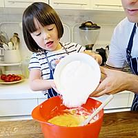 【老皮的亲子厨房】三岁孩子也能独立完成的爱心曲奇的做法图解3