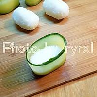 金枪鱼黄瓜寿司的做法图解9