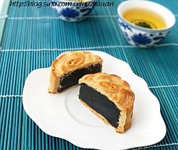 黑芝麻馅月饼的做法