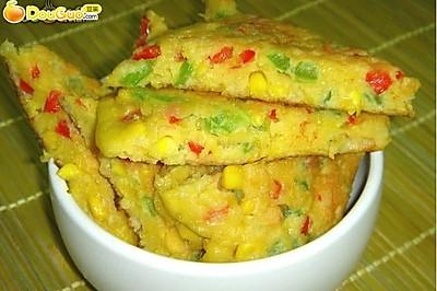 蔬菜鸡蛋饼