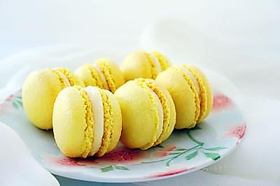 柠檬马卡龙~~卡士烤箱CO-750A食谱