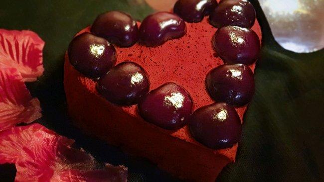 酒香紅絲絨蛋糕的做法